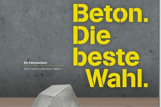 Neue Broschüre mit Faktencheck zum Thema Beton