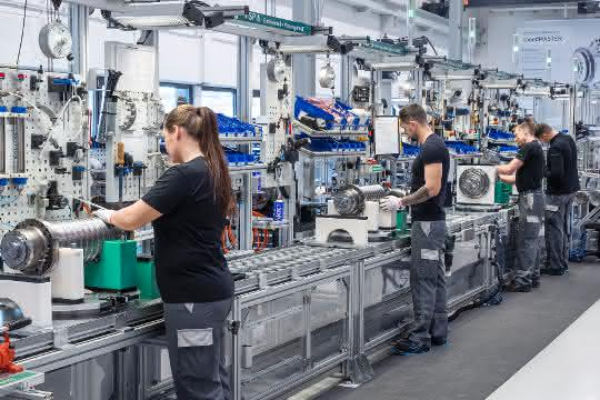 DMG Mori Spindelproduktion