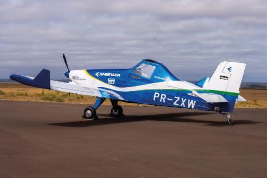 Einmotoriges Flugzeug auf der Basis des EMB-203 Ipanema
