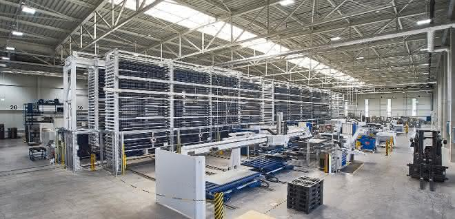 Automatiklager: Die vernetzte Zukunft in der Blechbearbeitung