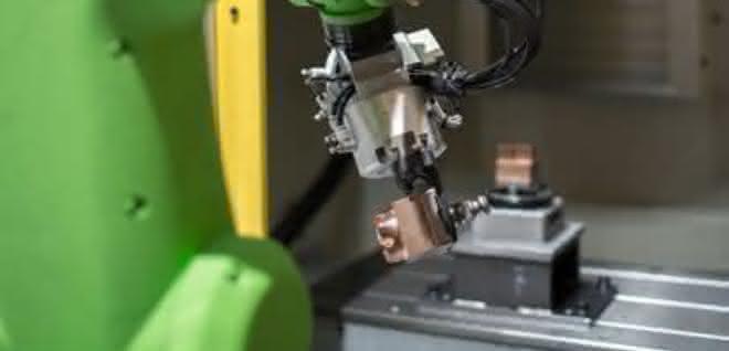 Automatisierte Werkzeugmaschine