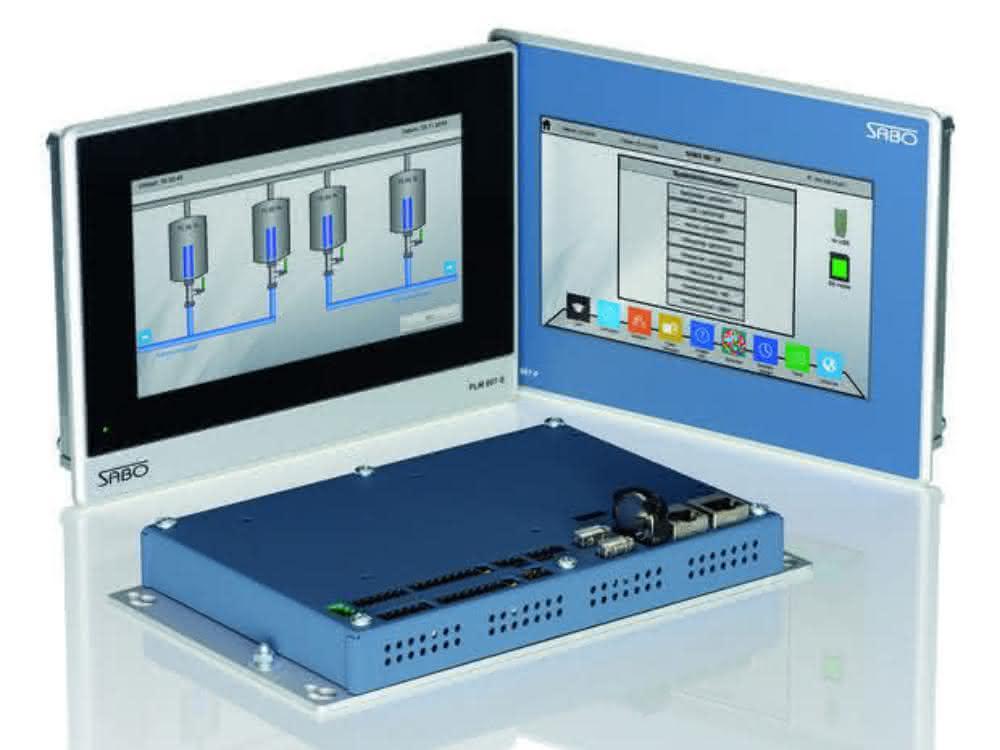 PLM 800 Master-Terminals von Sabo Elektronik