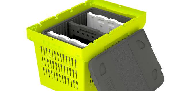 Behälter für e-Commerce: Damit die Lebensmittel frisch bleiben
