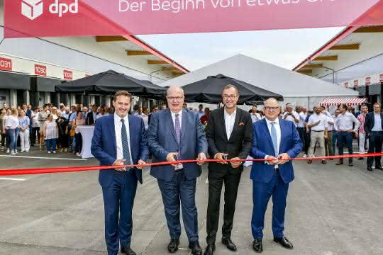 Größtes Paketsortierzentrum von DPD in Deutschland nimmt Betrieb auf