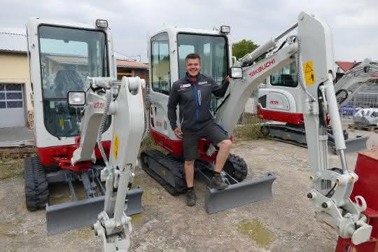 Takeuchi-Händler in Thüringen gut gestartet