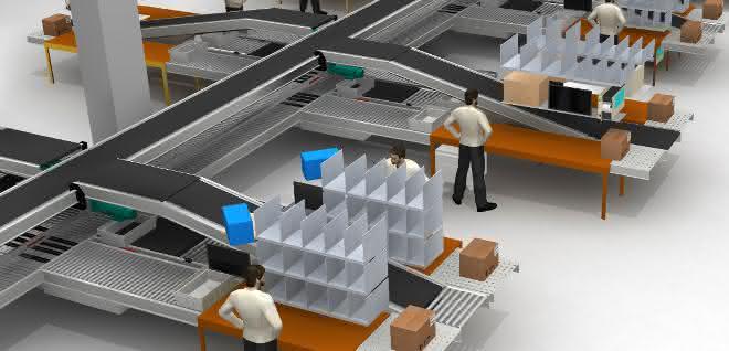 Automatisiertes Logistikzentrum: Multishuttles für's Hartmetall