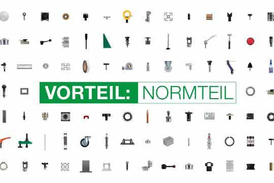 Anzeige: Standard-Bauteile von norelem: Weniger konstruieren, schneller produzieren