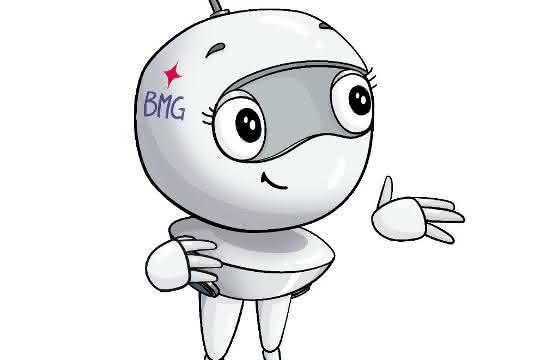 """Robotermädchen """"Beemgo"""" führt durch die VR-Tour"""