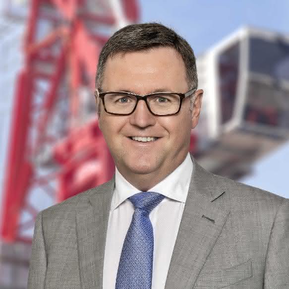 Duncan Salt übernimmt CEO-Posten bei Wolffkran