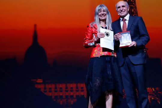 Übergabe der Goldmedaille der Europäischen Gesellschaft für Kardiologie (ESC) an Professor Dr. Hugo A. Katus