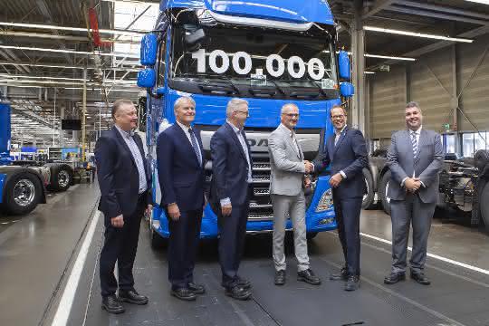 100.000ster DAF der neuen CF- und XF-Generation läuft vom Band