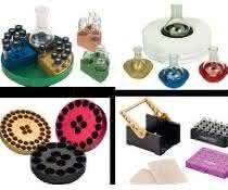 Reaktionsblöcke und -gefäße von Chemglass, vertrieben von Dunn Labortechnik