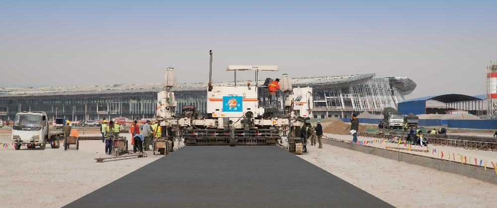 Wirtgen baut am Beijing New International Airport