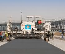 Wirtgen baut am Beijing New International Airport
