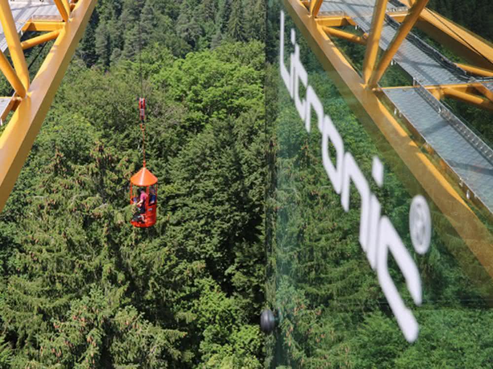 Liebherr-Turmdrehkran unterstützt Klimaforschungsprojekt