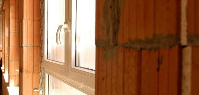 Massives Ziegelmauerwerk gewährleistet hohen Einbruchschutz