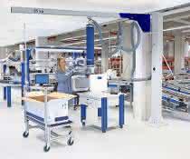 Aluminium-Ausleger von Schmalz