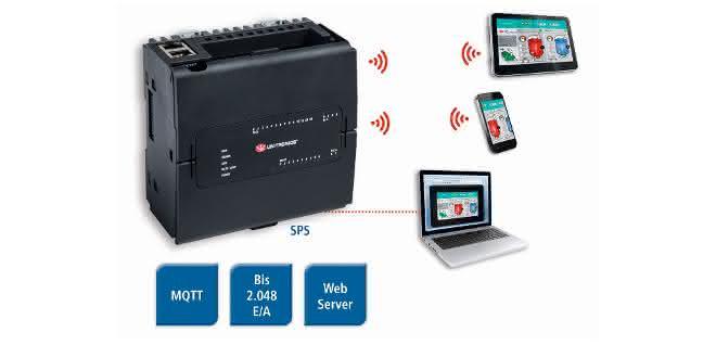 Virtual HMI der UniStream-SPS-Serie