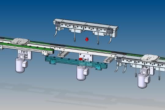Montageautomation: Produktwechsel innerhalb eines SPS-Programmzyklus