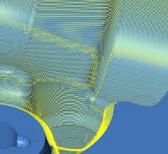 Die Funktion Sanftes Überlappen sorgt für hohe Oberflächenqualitäten