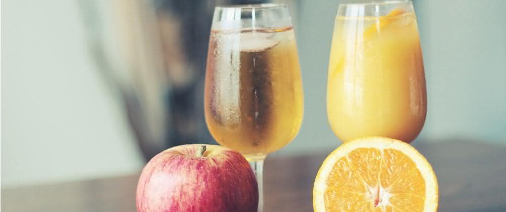 Obst und Säfte