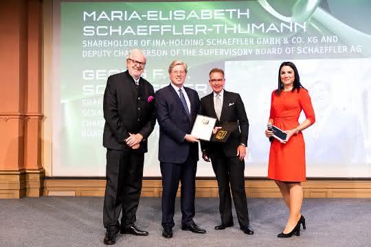 Schaeffler: Ehrenpreis an Familiengesellschafter