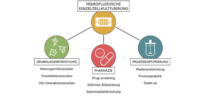 Bild 4: Potenzielle Anwendungsbereiche der MEZK.