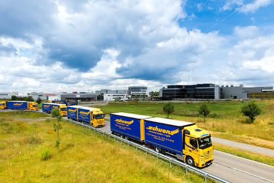 Green Logistics: Schuon transportiert CO2-neutral