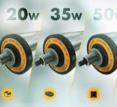 Rollerdrive mit 20, 35 oder 50 Watt