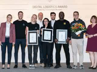 Nüwiel gewinnt mit intelligentem Fahrradanhänger den 3. Digital Logistics Award