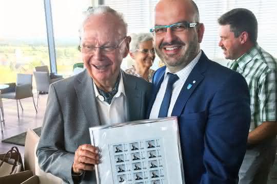 """Eugen Hehl und """"seine"""" Briefmarke"""