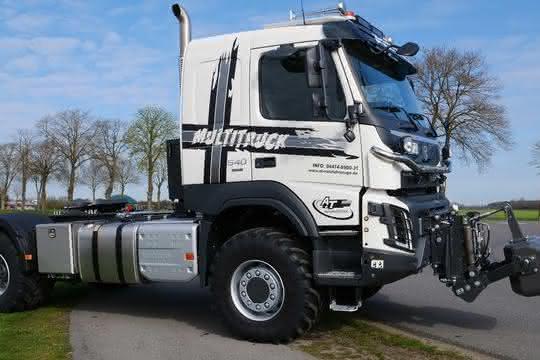 Vorgestellt: Der Volvo Trucks Multitruck