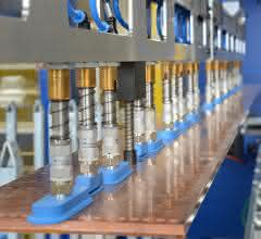 Automatisierte Stanzmaschine: Automatisierte Kupferfertigung