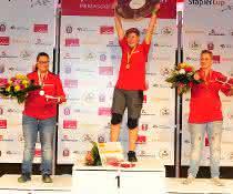 Finalentscheidung: Staplercup: Erwin Brummer und Melanie Holl erobern Meistertitel