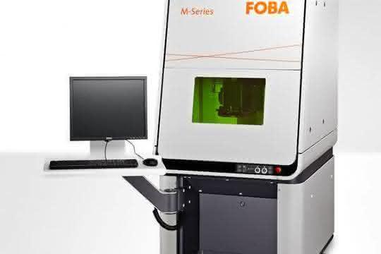 Lasermarkierarbeitsplatz Foba M2000