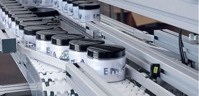 Scharnierband-Fördersystem Versaflex