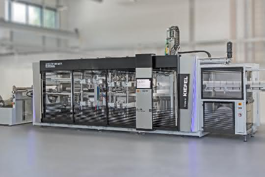 Speedformer KMD 64.2 Speed – Erstmals vorgestellt am Kiefel Packaging Dialogue Day, 26./27.Juni 2019 in Freilassing