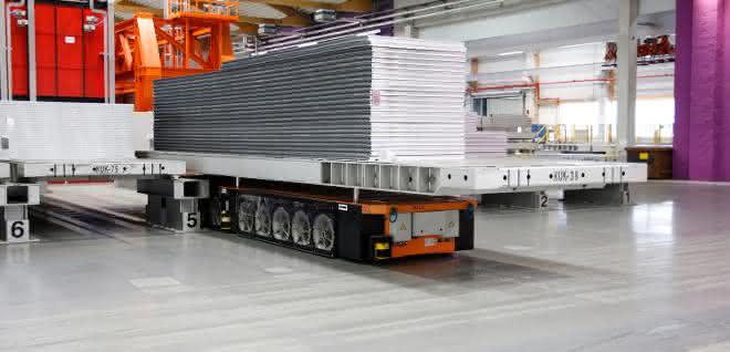 Schwerlastplattformen: Automatisierter Transport in alle Richtungen