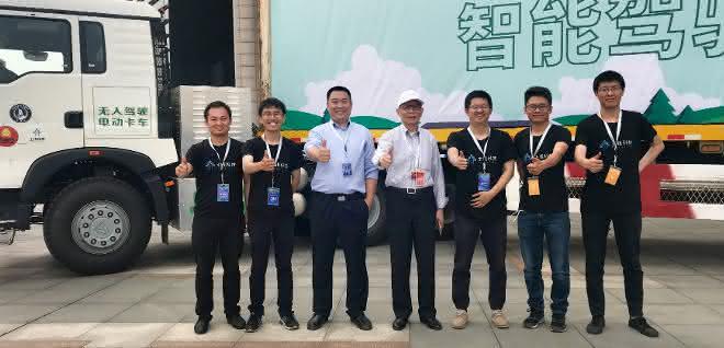 Autonomes Fahren: Neue Technologie für autonome Lkw in China