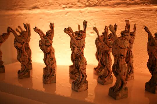 Lush-Prize-Hasenskulpturen