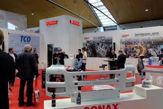 Nufam: Sonax präsentiert neue Anwendungen auf der Nufam