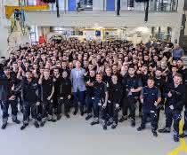 Ausbildungsbeginn: Rund 1.900 Azubis starten bei Daimler