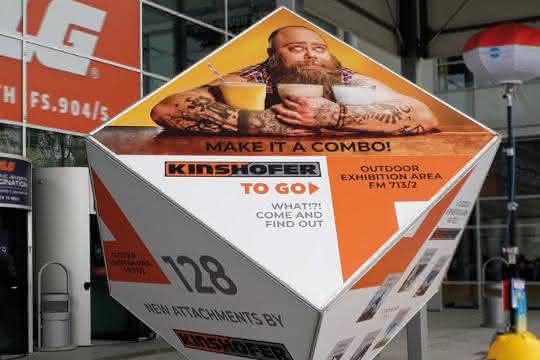 Kinshofer to go auf der bauma 2019