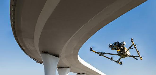 Bauwerksüberwachung: Brücken per Drohne im Blick