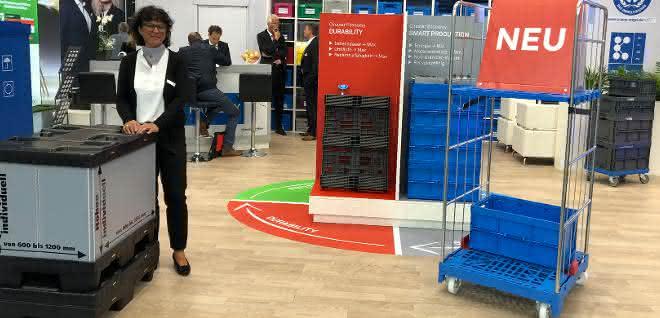 Umweltfreundlicher Rollcontainer präsentiert: Konzepte für eine nachhaltigere Logistik