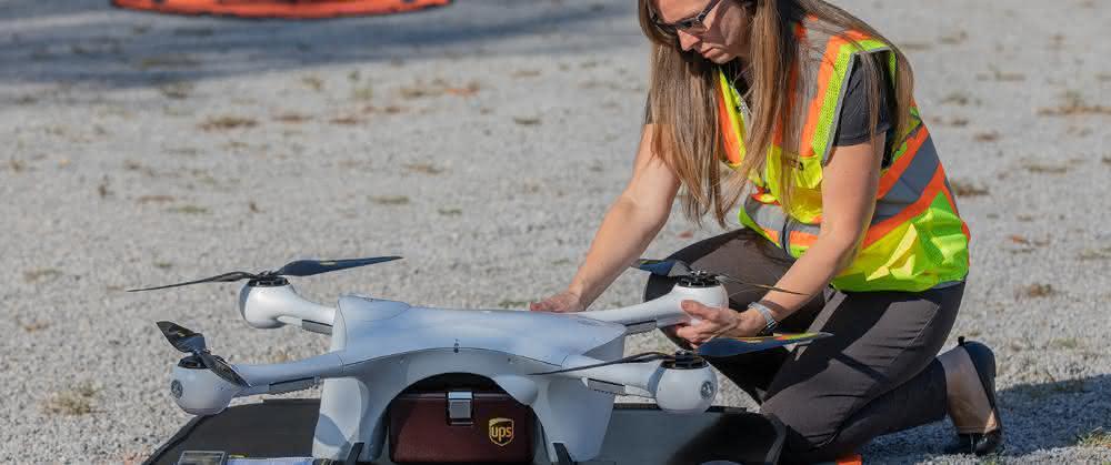 UPS Flight Forward erhält erste Zulassung als Drohnen-Fluggesellschaft