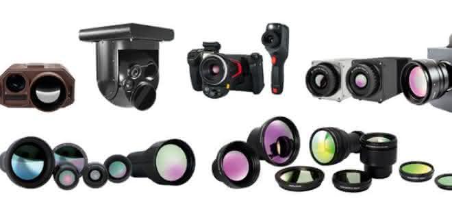 Kamerasortiment der InfraTec