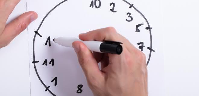 """""""Uhren-Test"""" zur Diagnostik einer Alzheimer-Demenz"""