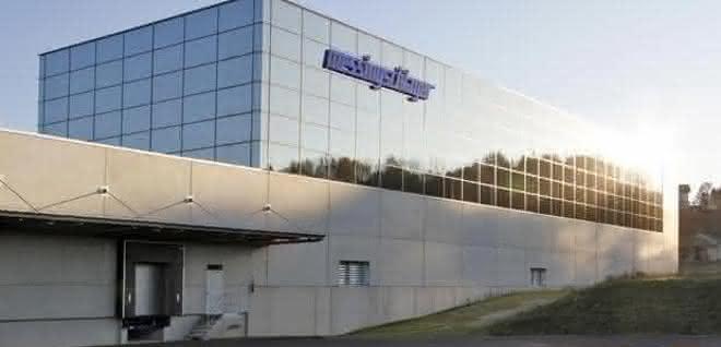 Logistikzentrum mit Hochregallager