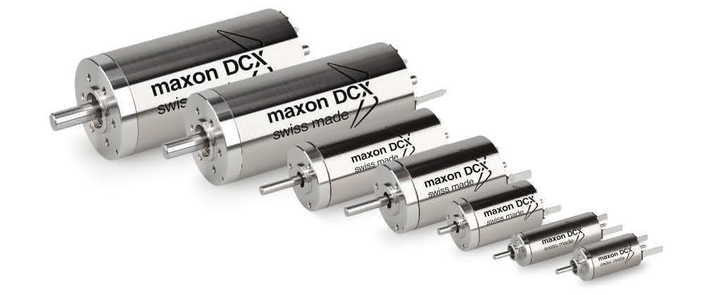 Bürstenbehaftete DCX-Motoren